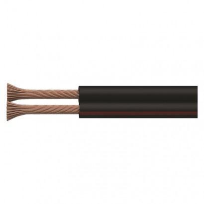 Dvojlinka 2x0,50mm černo/rudá S8250